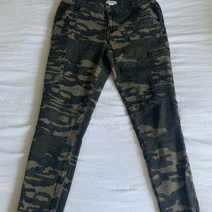 Forever 21 Camo Skinny Jeans